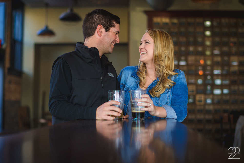 North High Brewery | Short North Engagement Photos | Columbus Engagement Photos | Columbus Engagement Photo Locations | Wedding Photographers in Columbus | Columbus Wedding Vendors