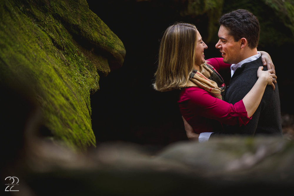 Turkey Run State Park | Engagement Photos in Indiana | Wedding Photographers in Chicago | Dayton Wedding Photographers | Dayton Engagement Photo Locations