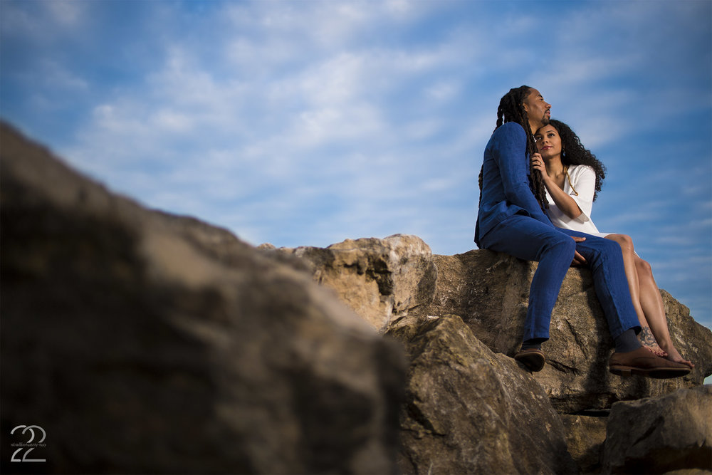 Dayton Engagement Session | Oakes Quarry Park | Dayton Engagement Photo | Columbus Engagement Photo | Interfit S1