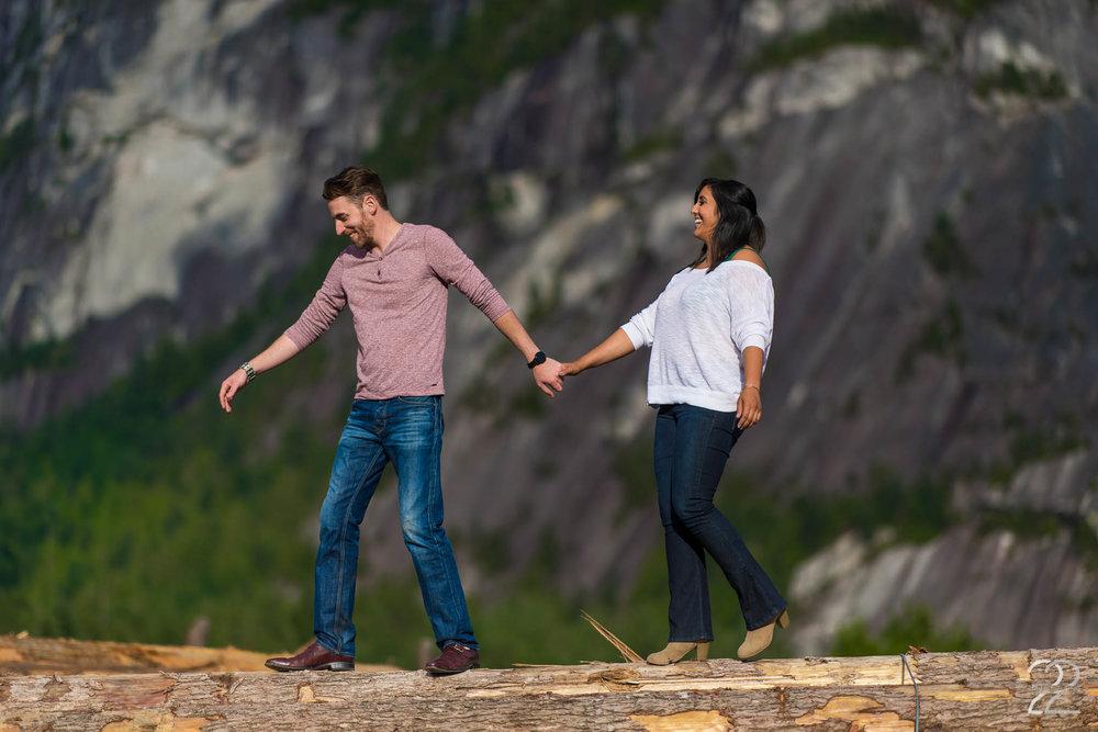 Squamish Wedding Photographers | Engagement Photos in Squamish | Vancouver Wedding Photographers | Engagement Photographers in Vancouver | British Columbia Wedding Photographers | Whistler Engagement Photos