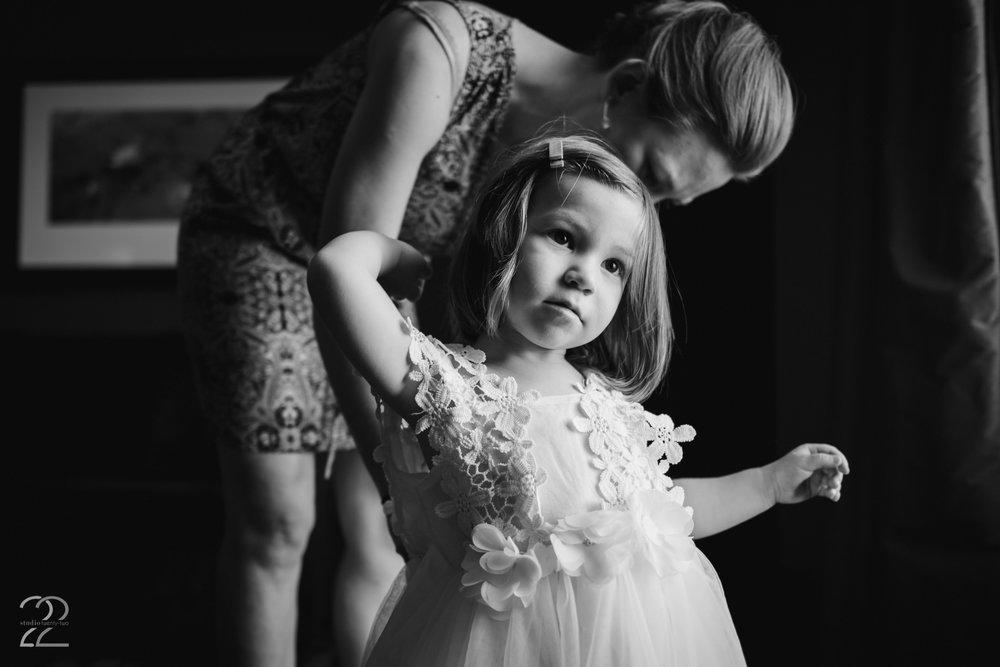 Dayton Wedding Photographers | Canopy Creek Farm Wedding | Dayton Wedding Venues | Flower Girl Photos