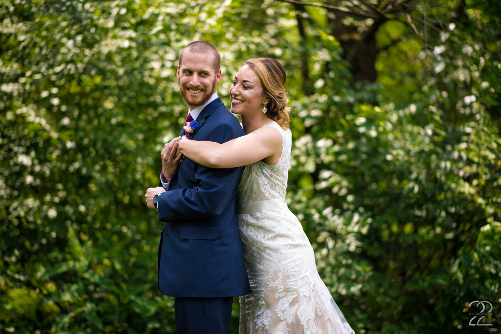 Canopy Creek Farm Wedding | First Look Wedding Photos | Summer Outdoor Weddings | Dayton Wedding Photographers | Columbus Wedding Photography | Canopy Creek Farm Miamisburg
