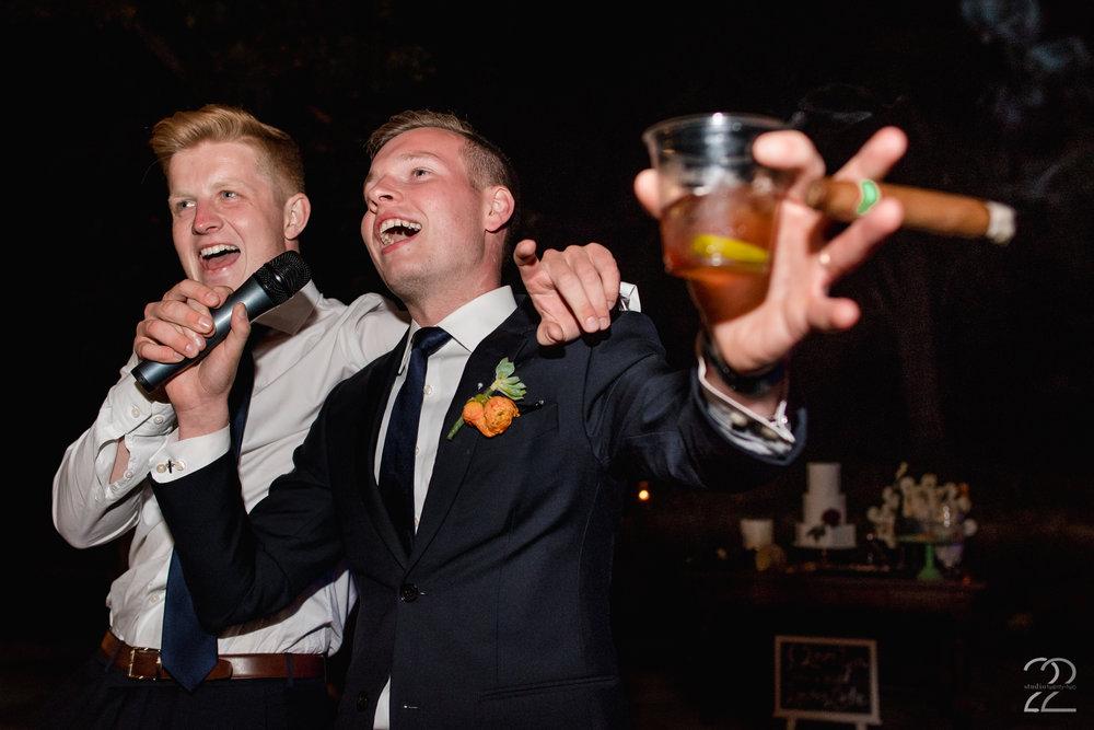 Wedding Karaoke | Master Mix DJ | Columbus Wedding Photographers | Bryn Du Mansion Weddings