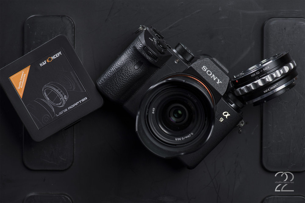 Sony A9 Review | Sony E Mount Lens Converter | Nikon to Sony Lens Converter | K&F Concept Lens Mount Adapter | Lens Adapters for Sony
