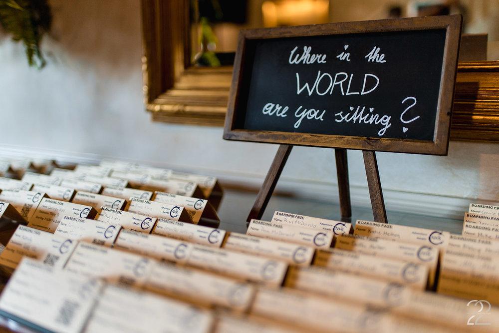 Wedding Seating Chart Ideas | Cincinnati Wedding Photos