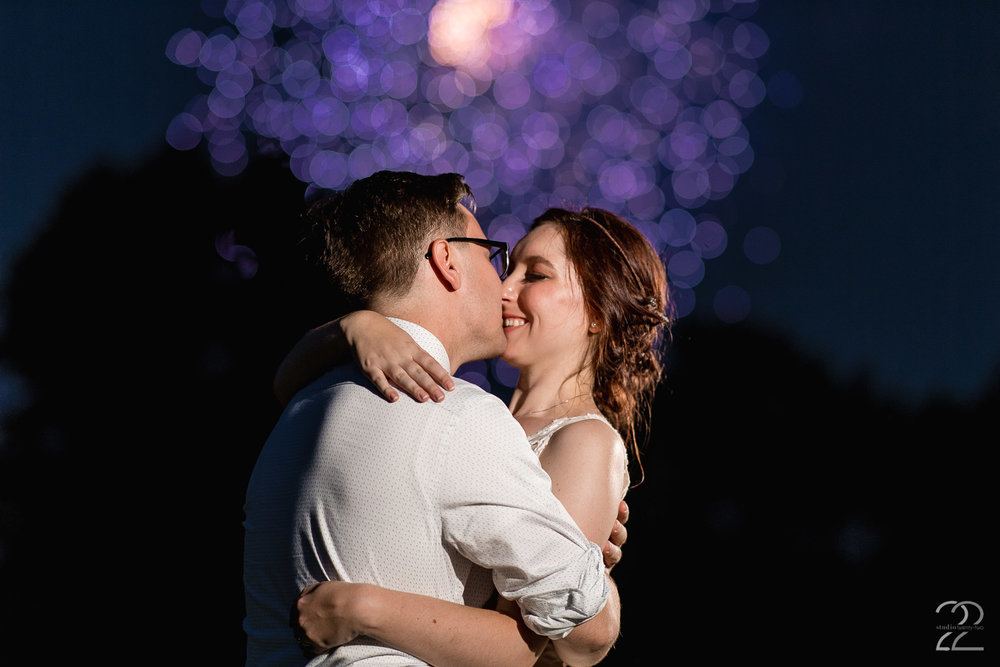 Cincinnati Fireworks Wedding | Wedding Photographers in Cincinnati