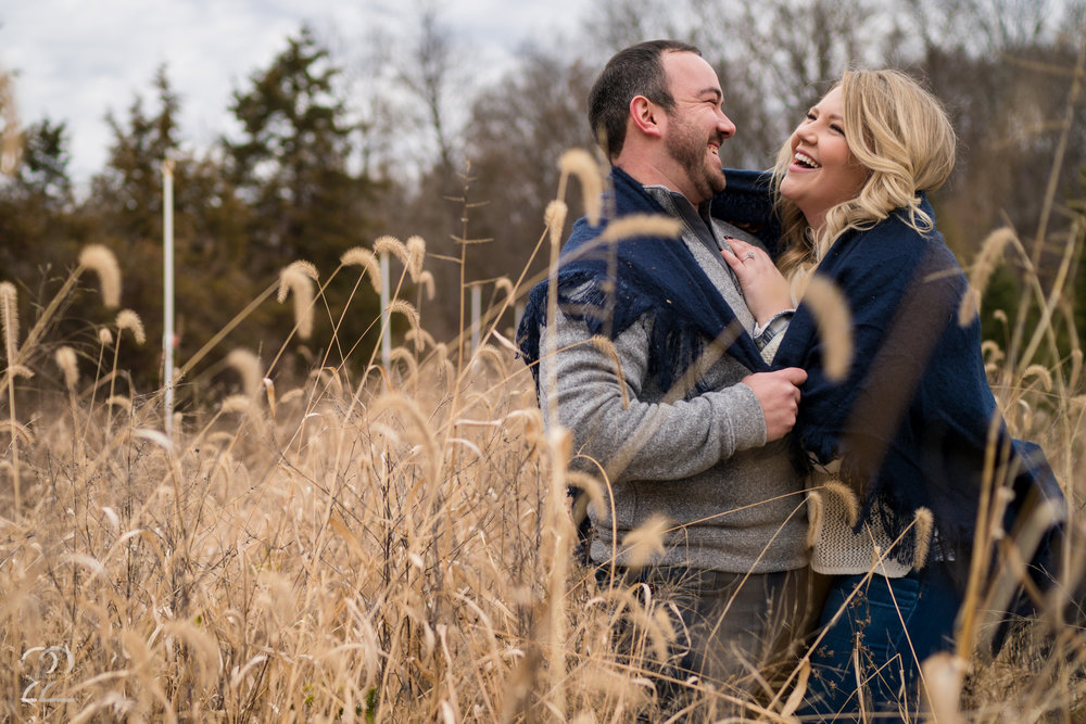 Big Tree Plantation | Winter Engagement Photos | Big Tree Plantation Engagement | Cincinnati Engagement Photos | Cincinnati Wedding Photographers | Dayton Wedding Photographers