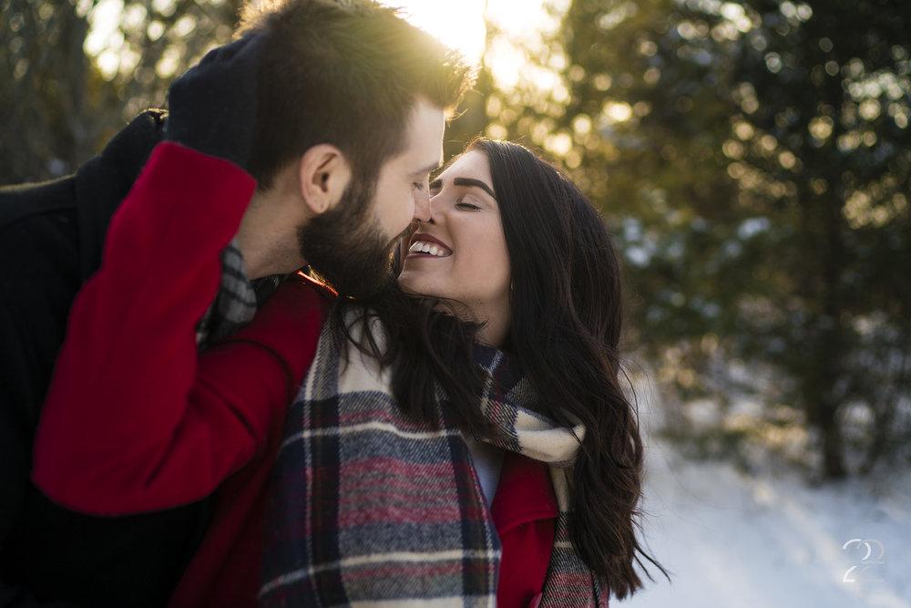 Dayton Engagement Photos | Winter Engagement Photos | Chicago Wedding Photographer | Chicago Winter Engagement Photos | Best Wedding Photographers in Ohio
