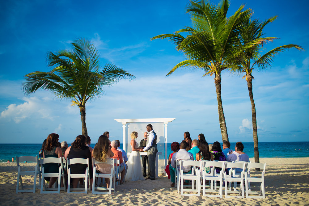 Hard Rock Hotel Photographer - Destination Wedding Photographer - Caribbean Wedding Photographer - Punta Cana Wedding Photographer - Beach Wedding - Studio 22 Photography