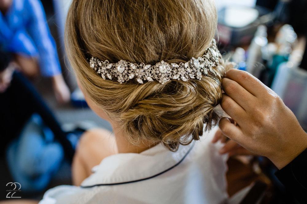Sweetly Pinned Hair Weddings Dayton
