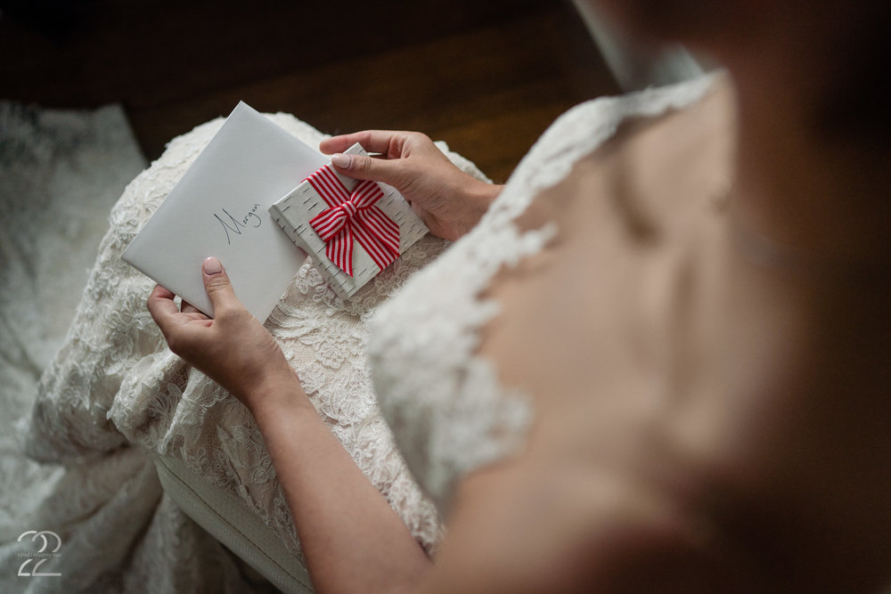 The little gestures of love that are not seen by everyone attending the wedding, are often some of the sweetest.