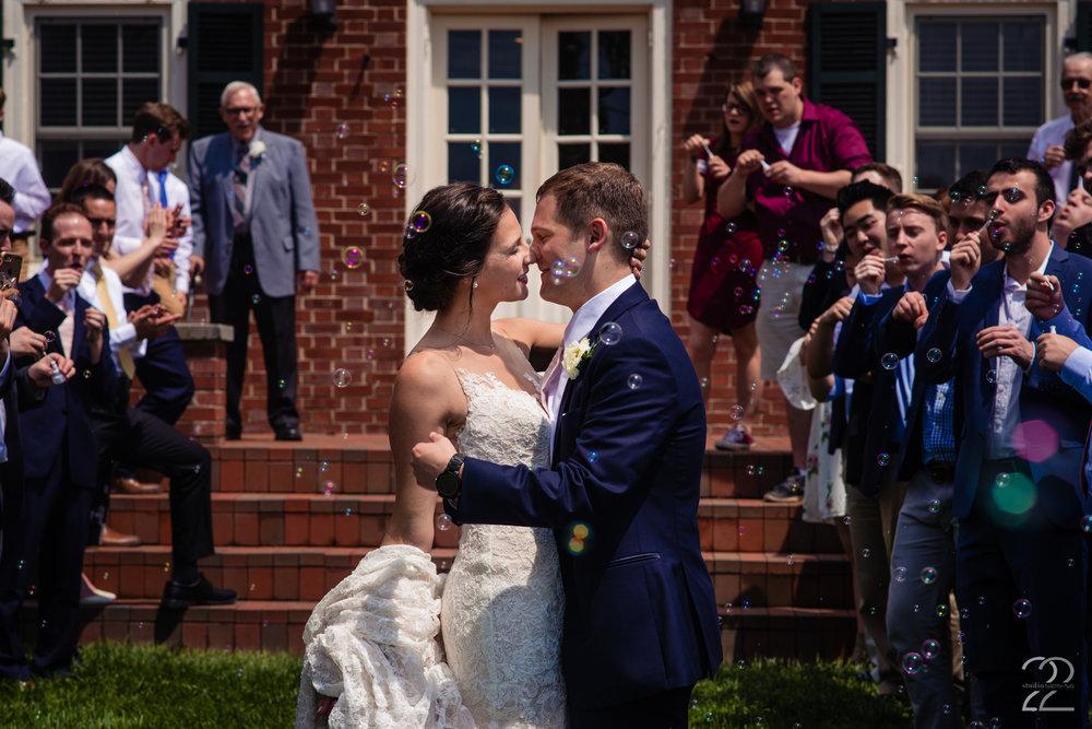 This wedding at French Park in Cincinnati blew everyone away.