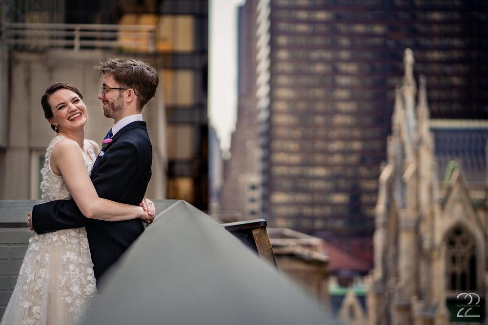 Rooftop Weddings in New York