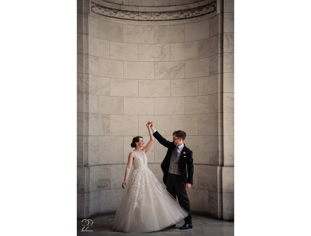 Wedding Photos in Bryant Park