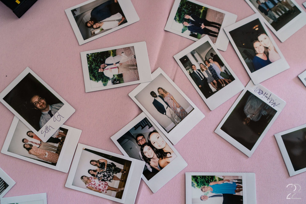 Photo guest books are an outstanding idea. This ensures you have a photo of each of your guests, and also creates a time capsule for future generations!