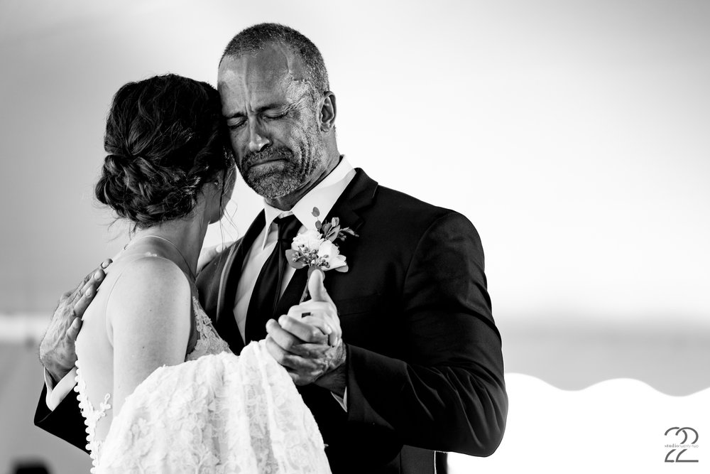 The first man she ever loved. Capturing the deepest emotions of a father and daughter on her wedding day is of the utmost importance to Megan. These photos with your parents will be with you long after they are gone and should convey the depth of  love between you.