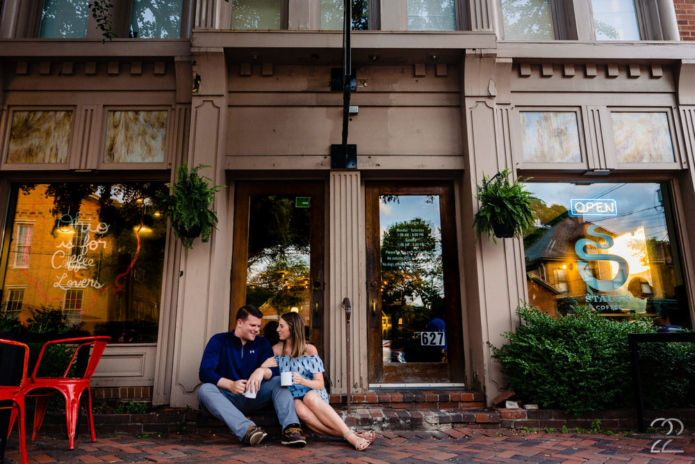 Cozy Engagement Photos