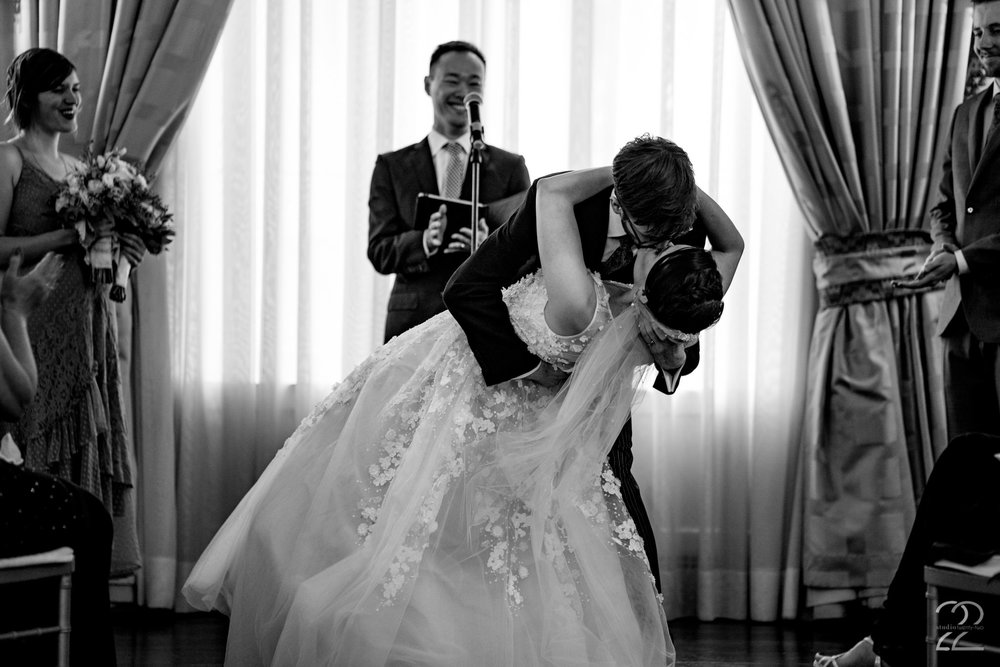Having a skilled wedding photographer is extremely important in capturing the pivotal moments of your day, but in order to get those epic photos you dream of you need to meet the photographer half way. Kenton and Sarah were full of excitement, emotions and passion. This combination created some spectacular images by Megan Allen from Studio 22 Photography at their NYC wedding.