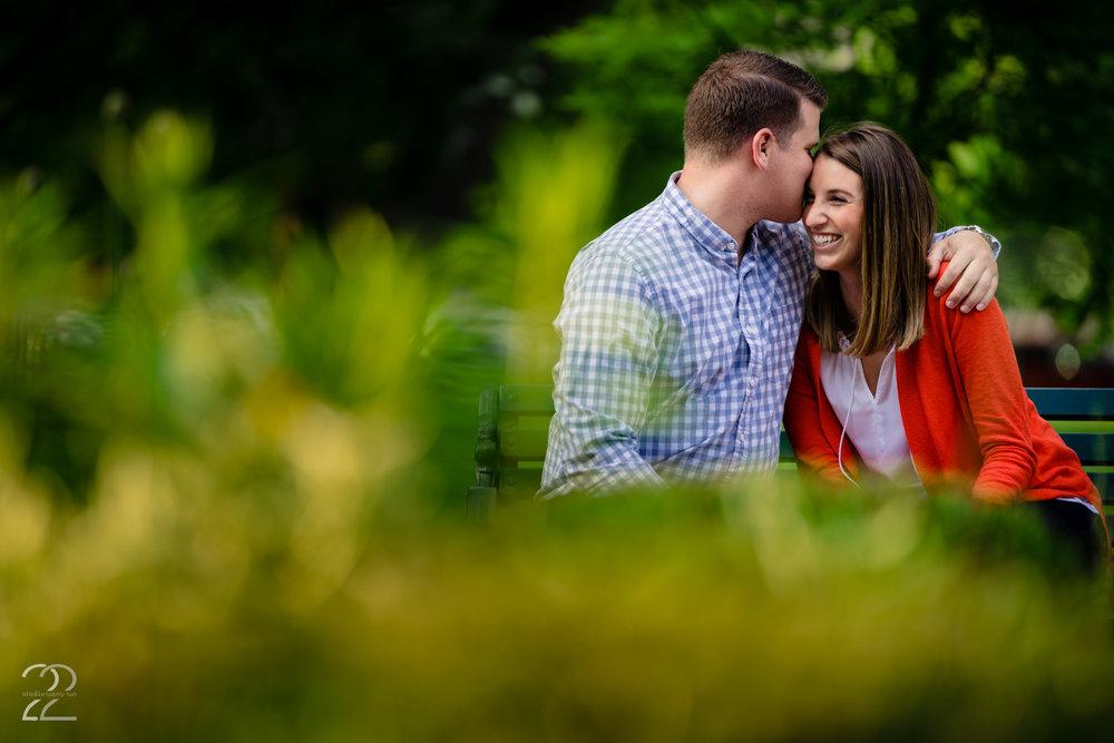 Schiller Park Engagement Photos