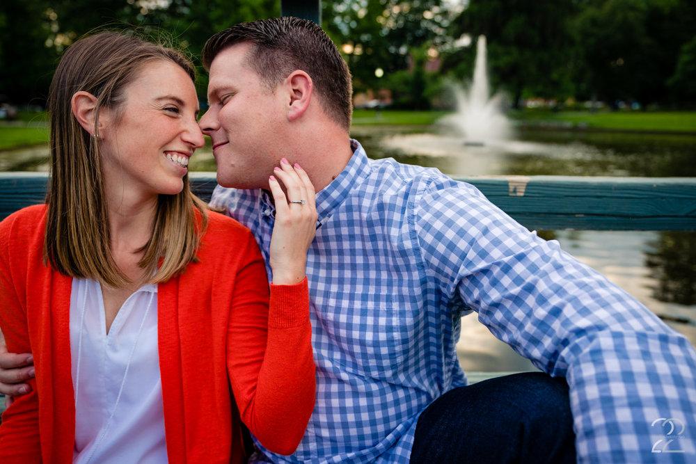 Engagement Photos in Schiller Park