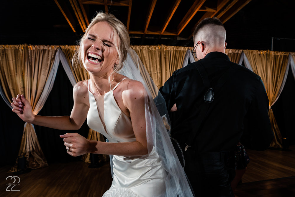 Your wedding should be one of the happiest and most fun days of your life. You are around the people that mean the most to you, have created a day that expresses who both are, and are marrying your best friend. So relax, laugh, smile, and get down!