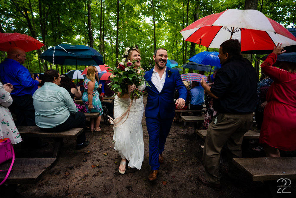 The elation of those first few seconds as husband and wife is contagious. Taylor and Tyler just exuded happiness!
