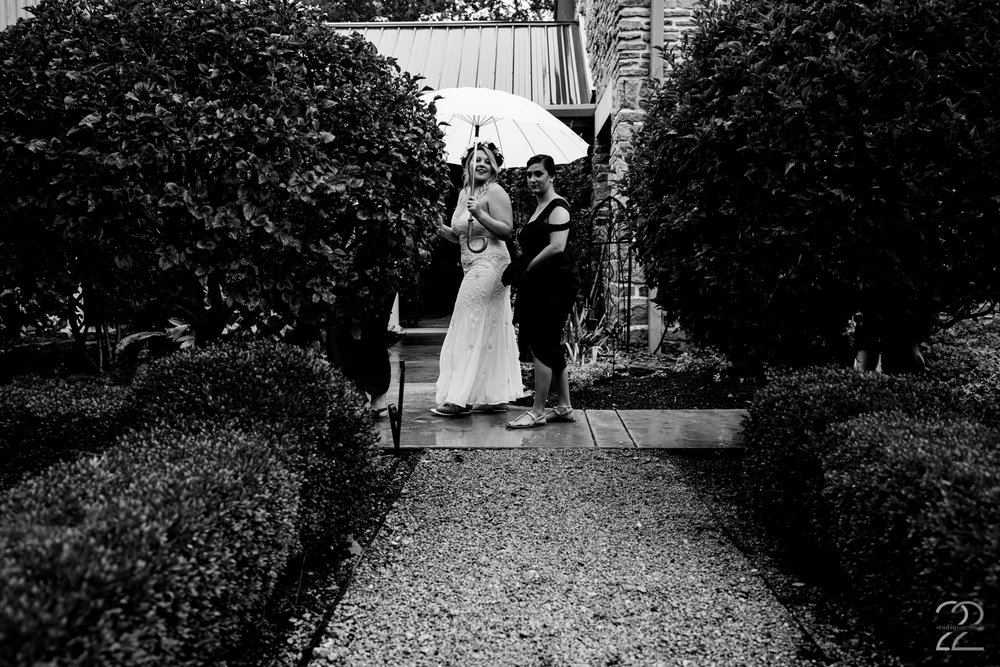 It is said to be lucky to have rain on your wedding day, and the awe inspiring day that Taylor and Tyler had at Canyon Run Ranch near Dayton, Ohio  proved it!