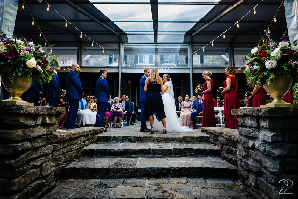 Rocky and Cassie's gorgeous fall wedding at Krippendorf Lodge in Cincinnati, Ohio was a dream to capture. Having Rocky's sister officiate the ceremony made it that much more special. Adding personal touches to your day, makes things unforgettable.
