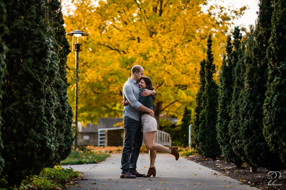 We have gorgeous couples, but what makes us even happier is when they are not only beautiful but fun and full of life and love! When we take engagement photos we want you to feel comfortable to relax and be yourself like Mike and Alicia did.