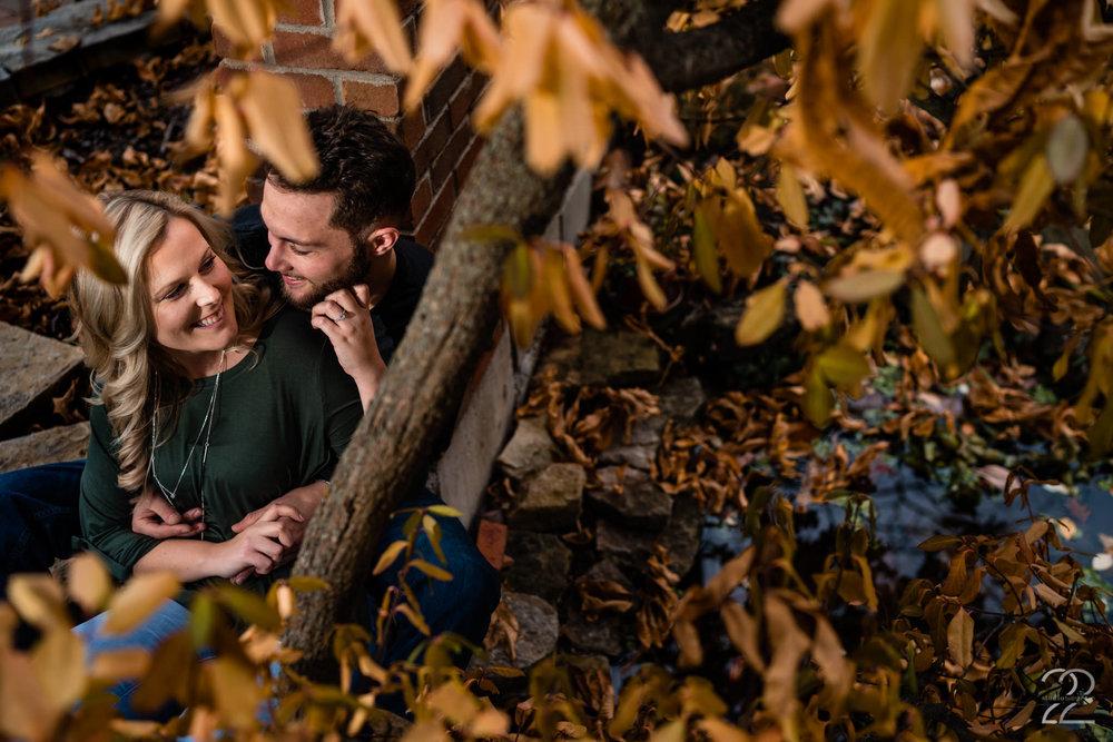 Engagement Photos in Yellow Springs - Dayton Engagement Photographer - Columbus Engagement Photos