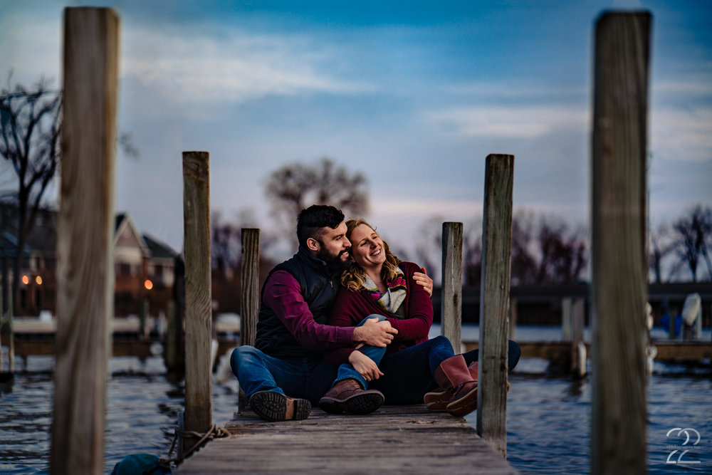 Madison Wisconsin is full of picture perfect spots for you and that special someone to snuggle in close for a gorgeous couples or engagement shoot. Megan Allen at Studio 22 Photography found this quaint little dock (with the help of Google) that provided a beautiful backdrop for these two gorgeous people.