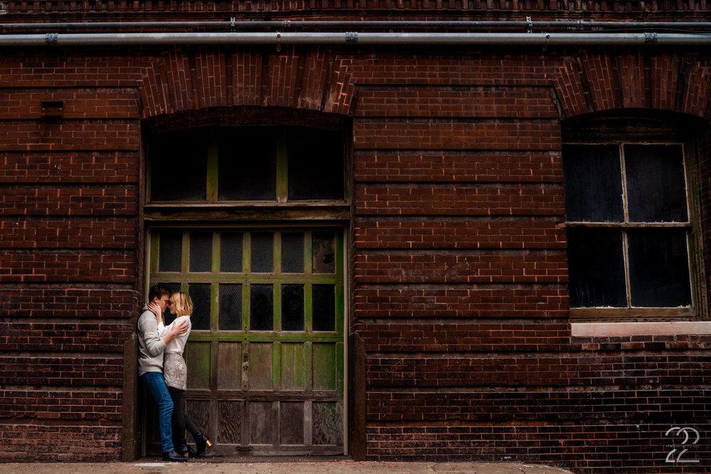 Engagement Photos West Bottoms Kansas City