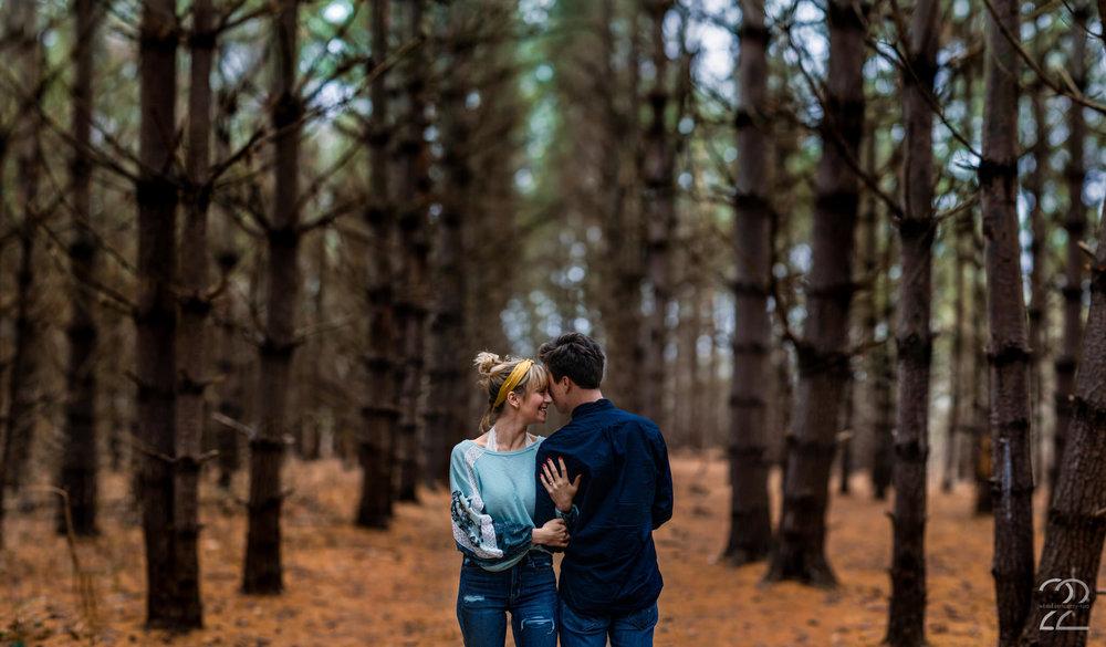 Burr Oaks Engagement Photos