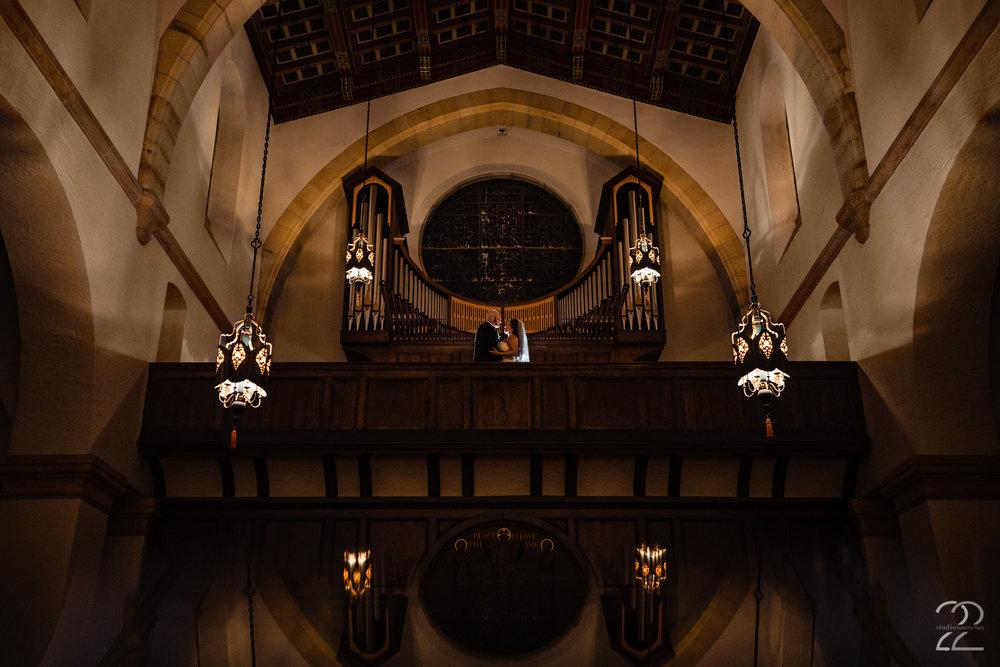 Knowles Memorial Chapel Wedding Photos