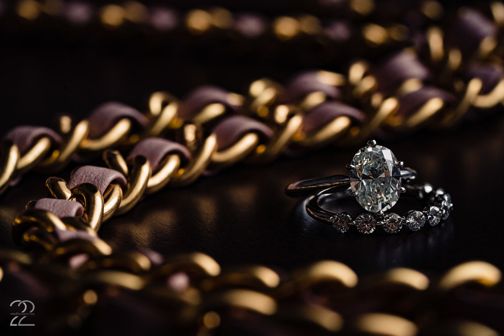 Wedding Rings in Dayton - Studio 22 Photography