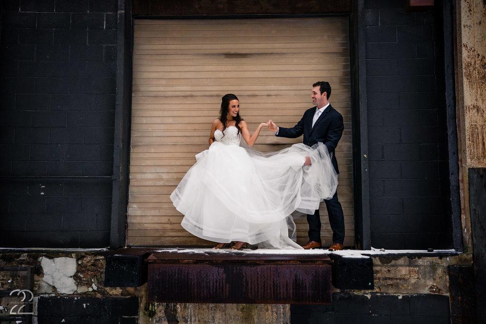The Cannery Downtown Dayton Wedding Photos - Cord Sandberg Auburn - Studio 22 Photography