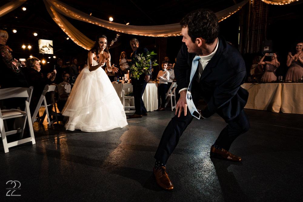 Weddings at Top of the Market - Studio 22 Photography - Cord Sandberg Auburn Quarterback