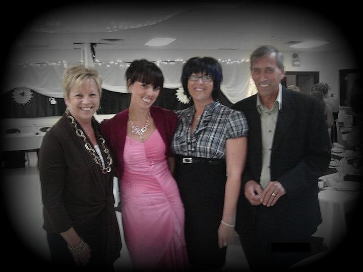 Sharon Girard, Amanda Pope, Sheila Girard and Yves Girard