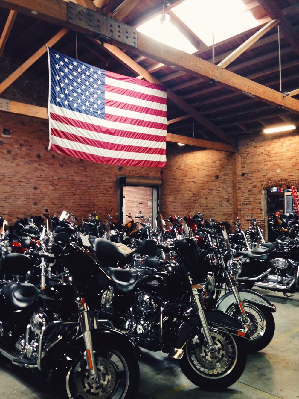 Eagle Rider: bike rental joint