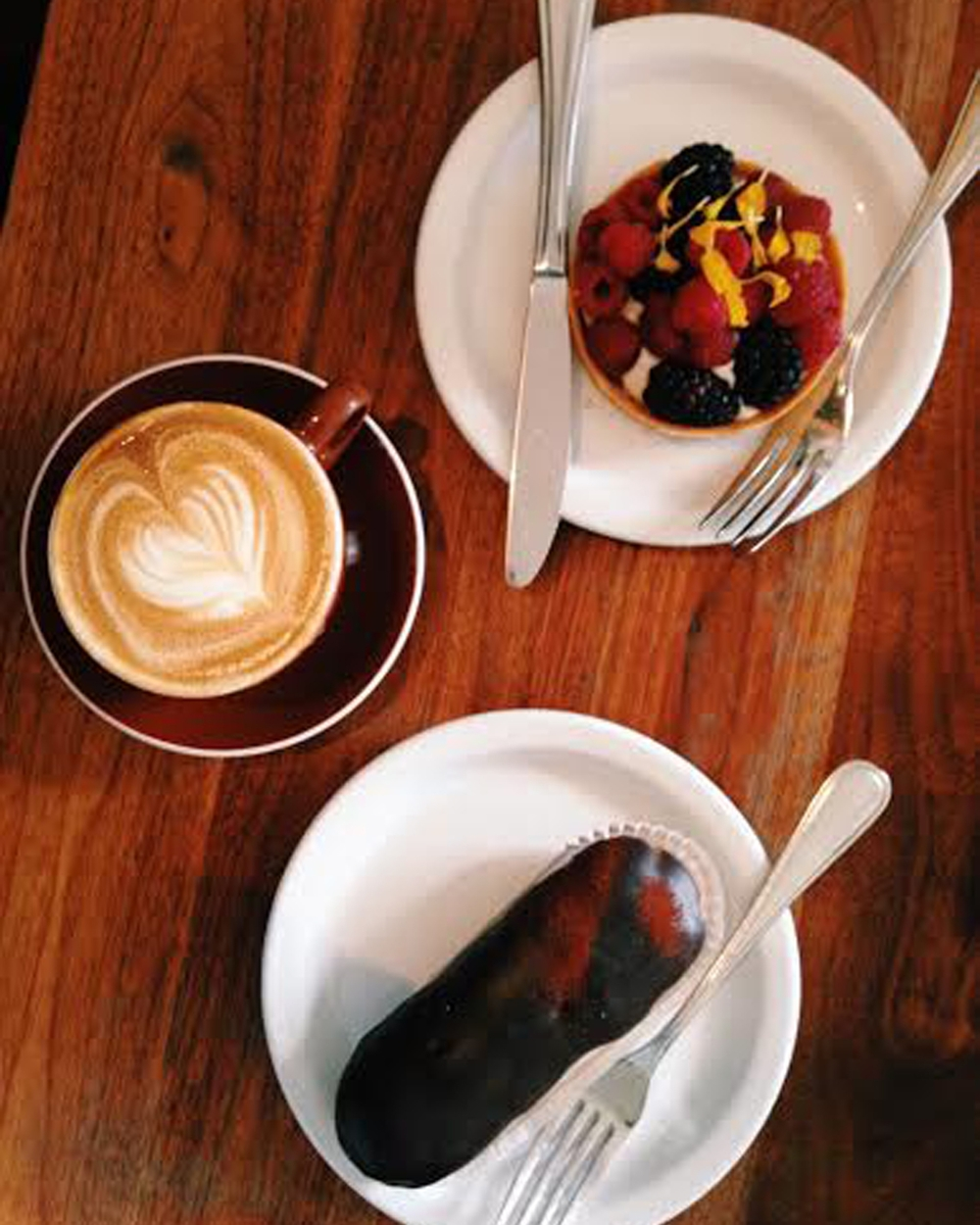 Visit  Tartine  and indulge in all things sweet.