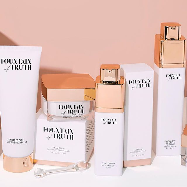 Fountain of Truth - I was the lead designer for the branding & packaging design behind Giuliana Rancic's skincare line, Fountain of Truth.
