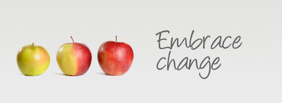 embrace change apple