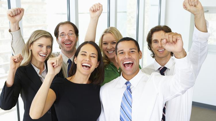 happy professionals