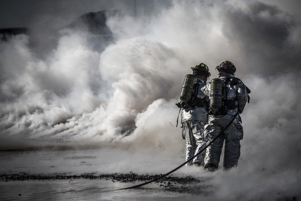 emergency response firemen