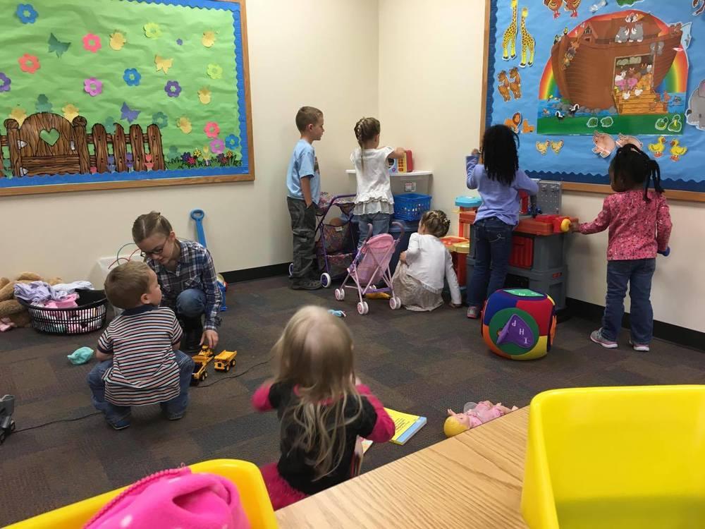 Ladies Bible Class Childcare fun