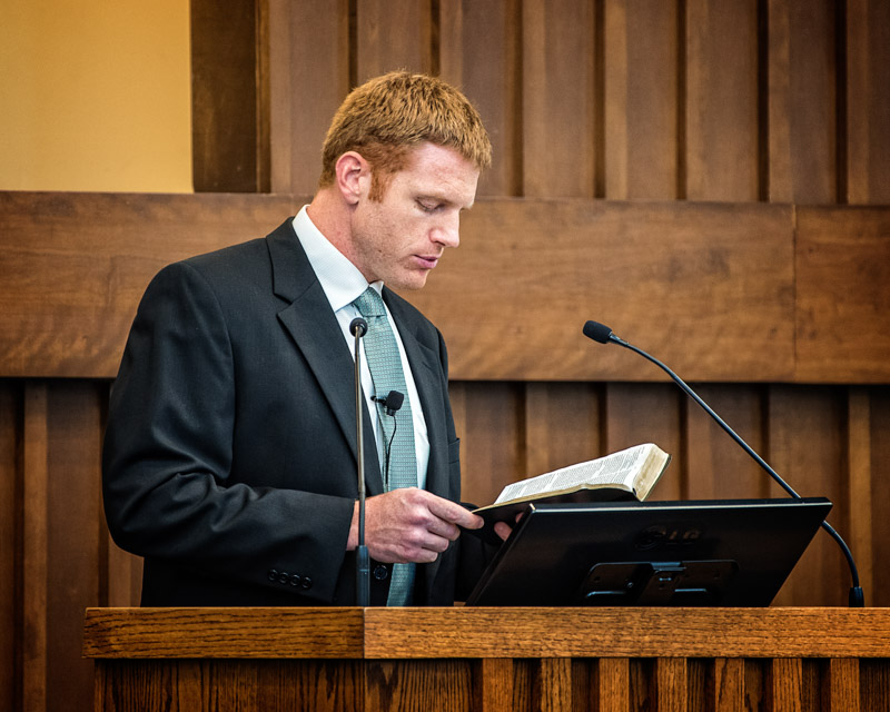 Cason preaching