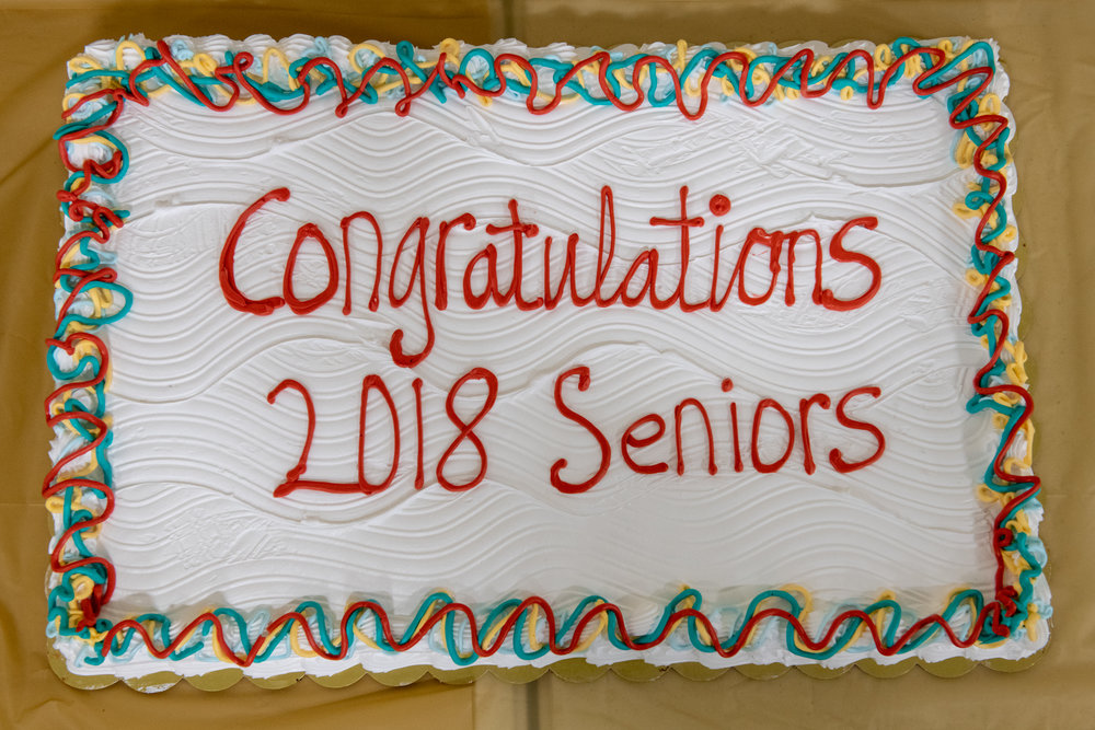 2018 Senior Banquet