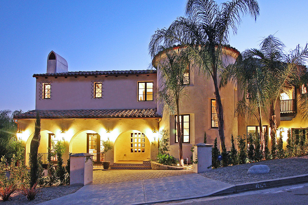 Pacific Palisades Luxury Spanish Home