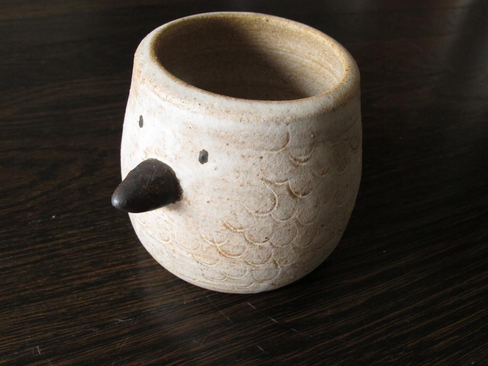 Bird cup.