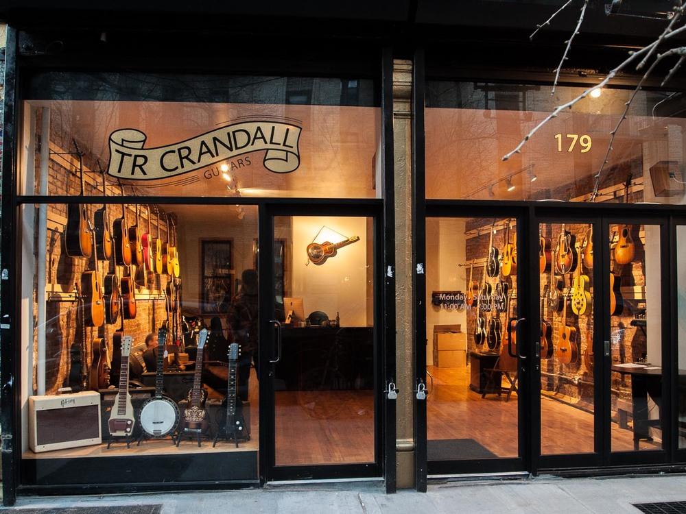 TR Crandall Guitars